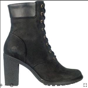 Timberland Black Glancy Boot